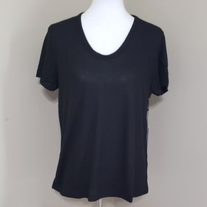 Super soft black tee